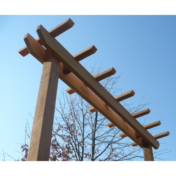 Post Cedar Wood Arbor by Threeman Products