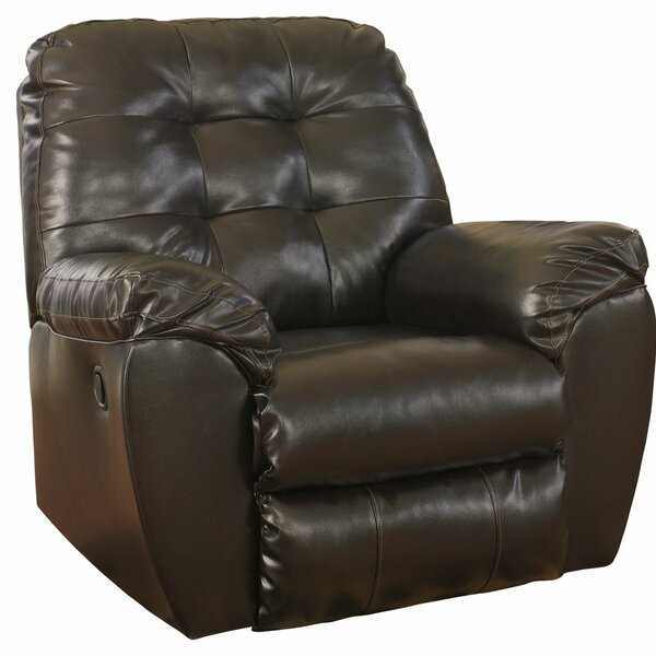 Manley Faux Leather Manual Rocker Recliner RDBS1371
