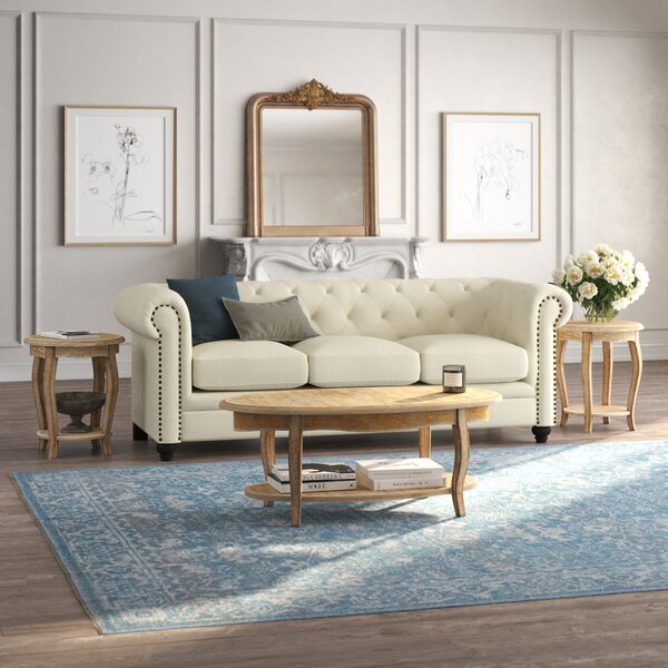 Francoise 3 Piece Coffee Table Set by Kelly Clarkson Home Kelly Clarkson Home
