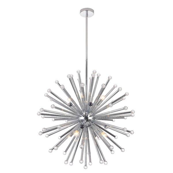 Tenino 8-Light Sputnik Sphere Chandelier By Orren Ellis