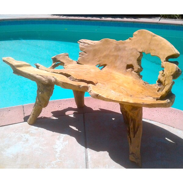 Aries Teak Garden Bench by Bayou Breeze