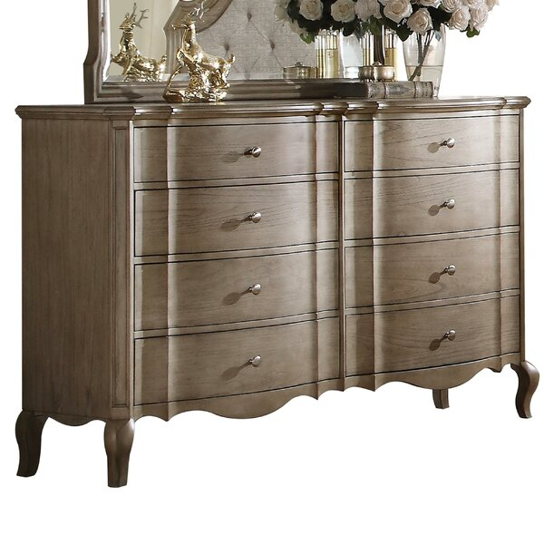 Anatolio 8 Drawer Double Dresser by One Allium Way