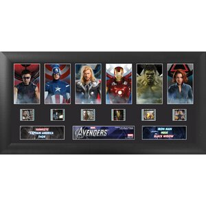 Avengers Deluxe FilmCell Presentation Framed Vintage Advertisement by Trend Setters