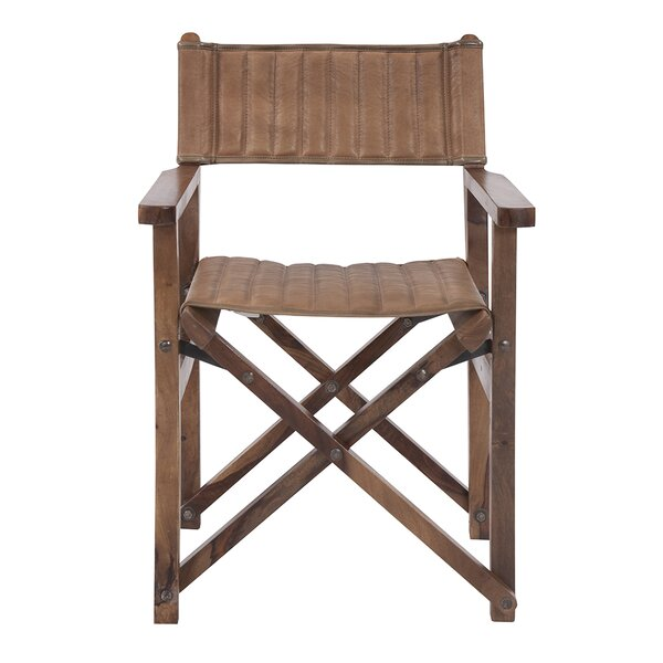 Vankirk Leather Director's Lounge Chair By Union Rustic