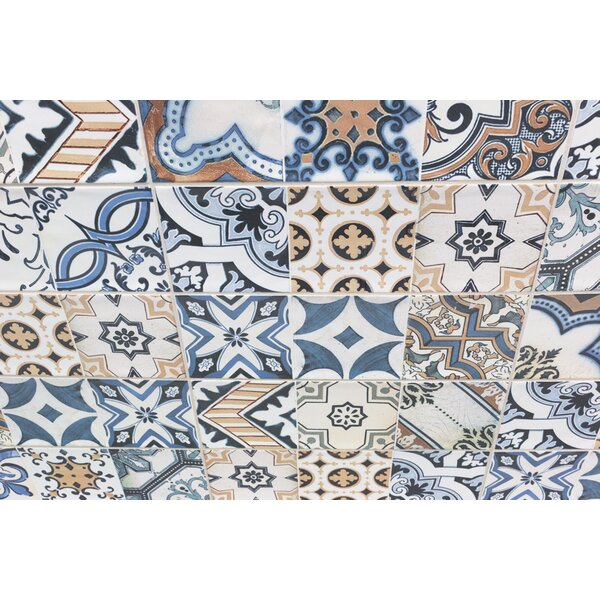 Pier 4 x 12 Ceramic Subway Tile in Warm Deco by Splashback Tile