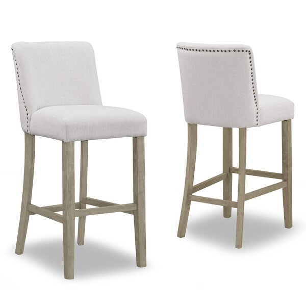 Gelsomina 30 Bar Stool (Set of 2) by One Allium Way