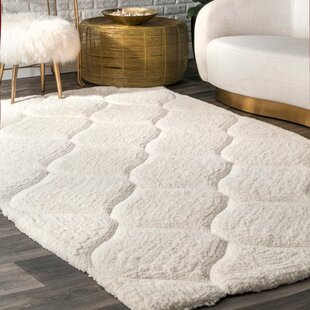 Gerold Hand-Tufted White Area Rug by Willa Arlo Interiors