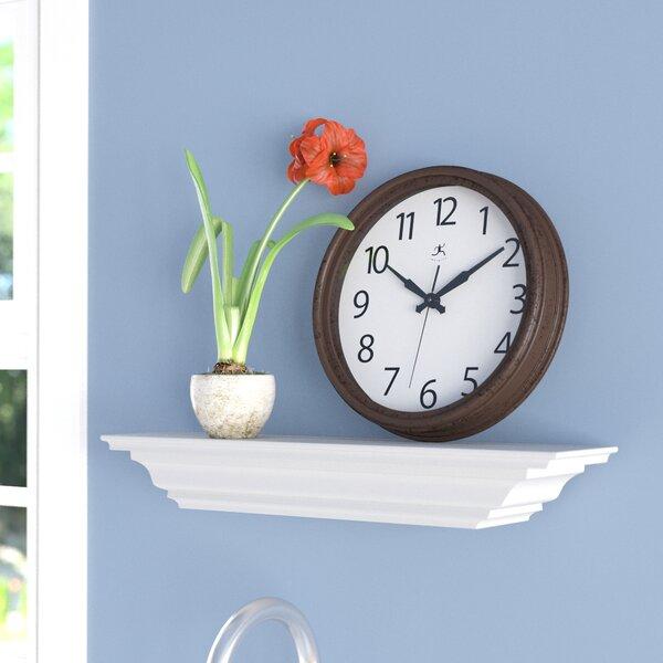 Leonetti 12 Antique Brown Wall Clock by Winston Po
