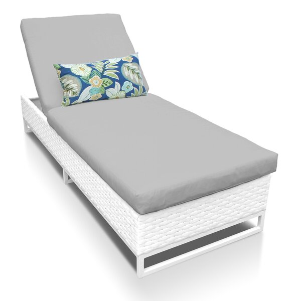 Menifee Reclining Chaise Lounge with Cushion