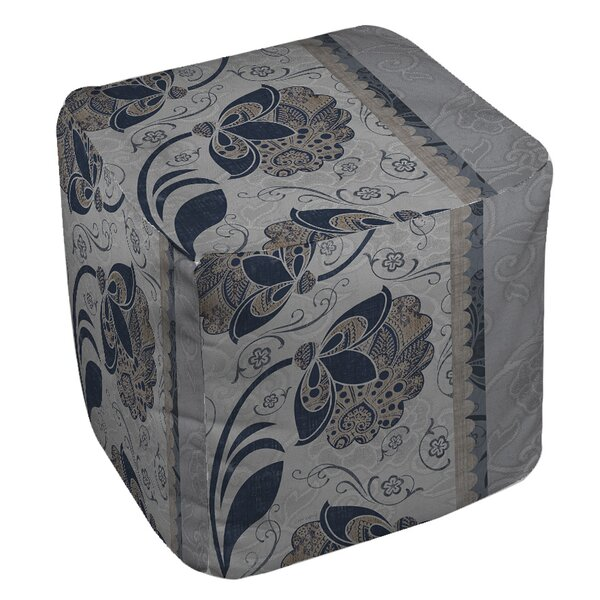 Elegante Pouf By Manual Woodworkers & Weavers Bargain