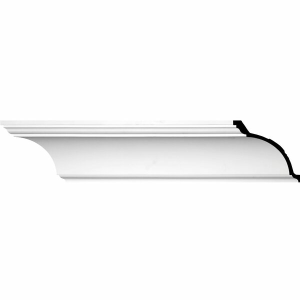 Eris Smooth 7 7/8 H x  94 1/2 W x 8 D Crown Molding by Ekena Millwork