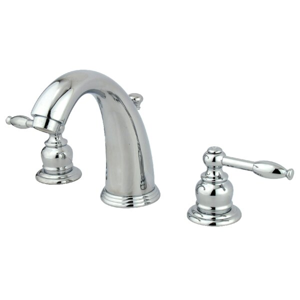 Knight Widespread Bathroom Faucet With Drain Assembly By Kingston Brass