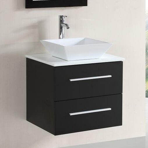 Bryony 24 Single Vanity Set with Mirror by Orren Ellis