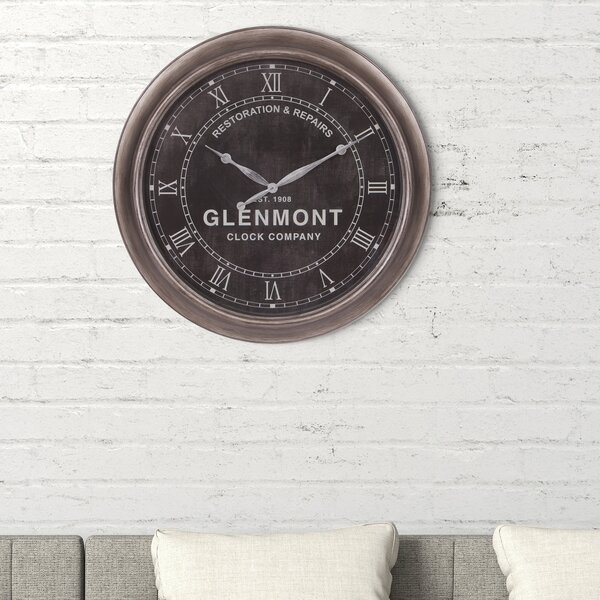 Oversized Glenmont Antique 24 Wall Clock by Nielsen Bainbridge