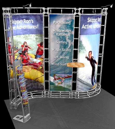 Mercury Expo Truss Kit by Exhibitor's Hand Book