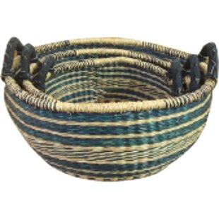 Zulu 5 Piece Nesting Seagrass Basket Set