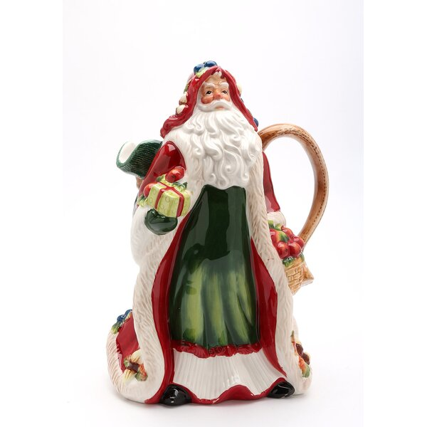 Dobbs Fruitful Santa 56 oz. Pitcher by The Holiday Aisle