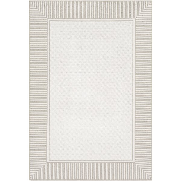 Oliver Taupe Indoor/Outdoor Area Rug by Bay Isle Home