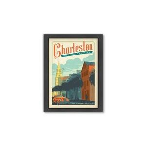 Charleston by Anderson Design Group Framed Vintage Advertisement by Americanflat