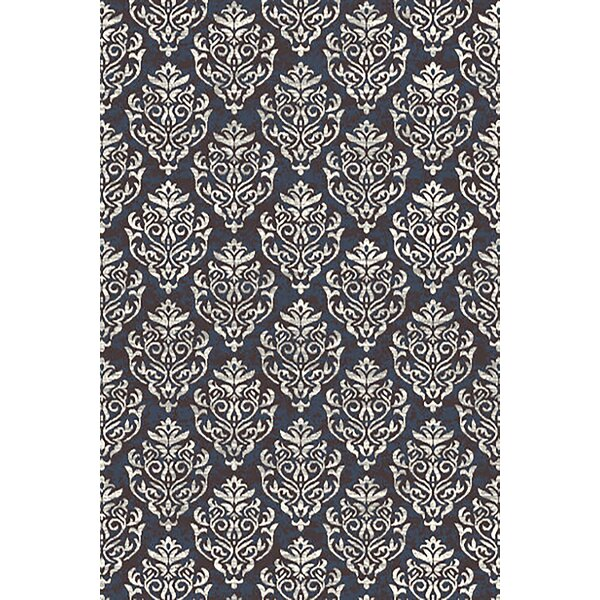Aviva Abstract Gray/Cream Area Rug by House of Hampton