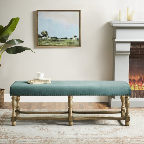 Searles Upholstered Bench by Martha Stewart