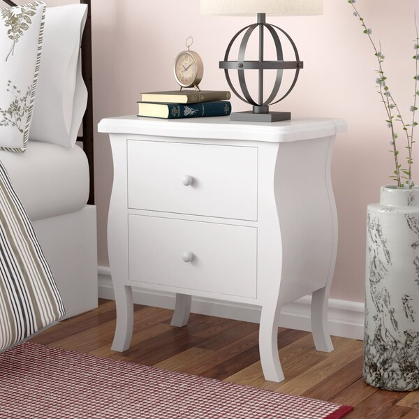 Nico 2 Drawer Nightstand by Laurel Foundry Modern Farmhouse