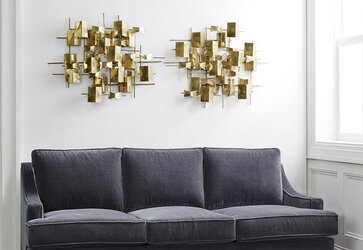 Modern Metal Wall Decor modern wall décor + wall art | allmodern