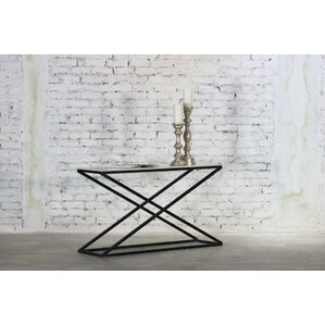 Raymond Marble Top Console Table by Everly Quinn