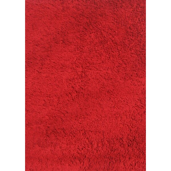 Red Shag Kids Rug by Fun Rugs