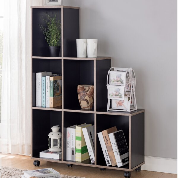 Lea Modern Mobile Standard Bookcase by Ebern Designs