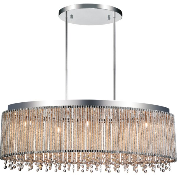 Batty 5-Light Shaded Drum Chandelier By House Of Hampton