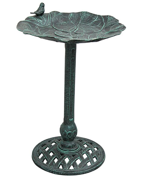Lily Pad II Birdbath by Innova Hearth and Home