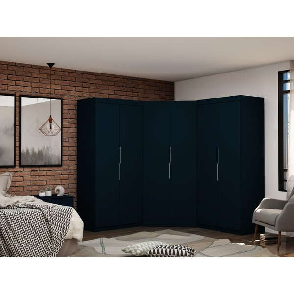 Delhi 3 Sectional Wardrobe Armoire (Set of 3) by Latitude Run