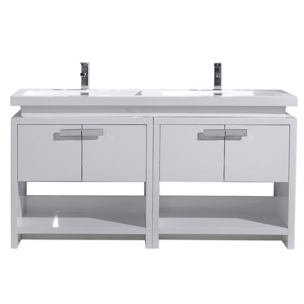 Gaynelle 63 Double Bathroom Vanity Set by Orren El