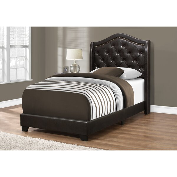 Macias Queen Upholstered Standard Bed by Rosdorf Park