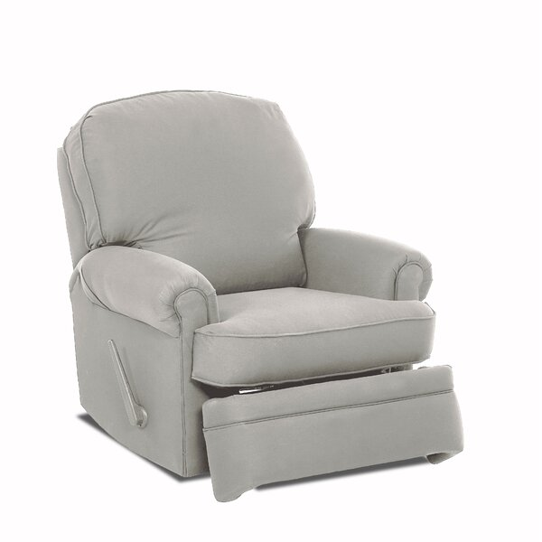 Stanford Swivel Glider Recliner by Wayfair Custom Upholstery™