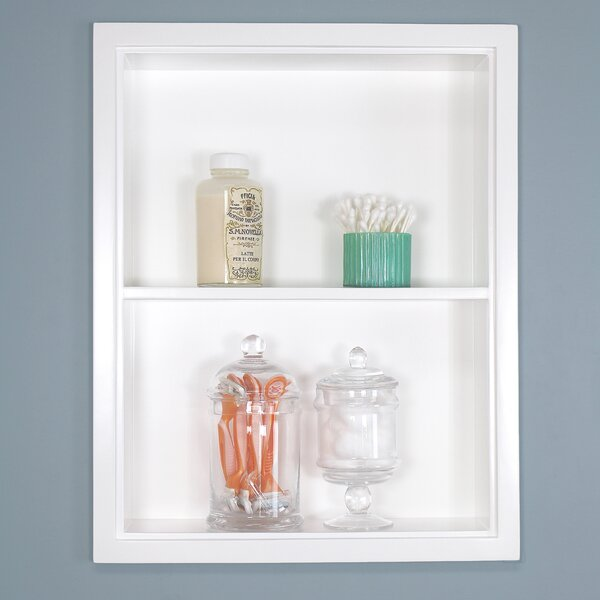 Sloane Niche Recessed Wall Shelf by Concealed Cabinet