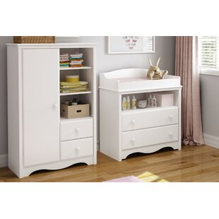 Angel Changing Dresser with Amoire by South Shore
