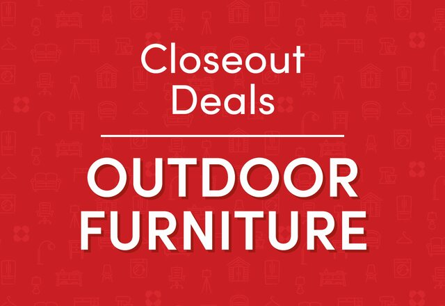 Closeout: Outdoor Furniture