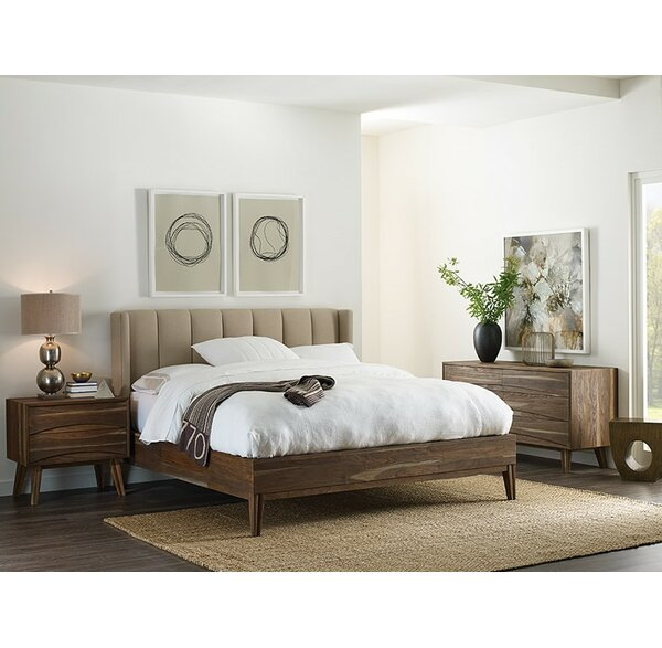 Manchester Upholstered Standard Bed by Foundry Select