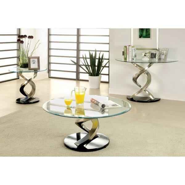 Farren 3 Piece Coffee Table Set by Orren Ellis Orren Ellis