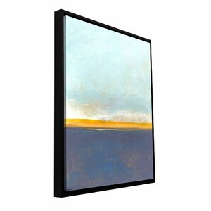 'Big Country Sky I' by Jan Weiss Framed Painting Print on Wrapped Canvas by ArtWall