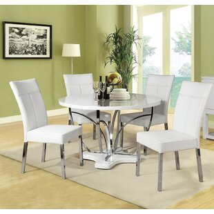 Silsbee 5 Piece Dining Set By Orren Ellis