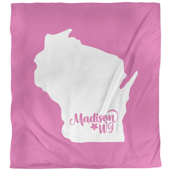 Madison Wisconsin Single Reversible Duvet Cover