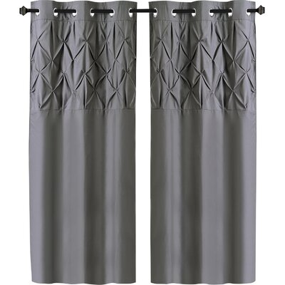 Gray And Silver Narrow Under 45 Quot Curtains Amp Drapes You