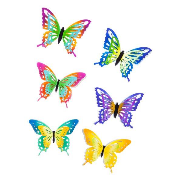 Butterfly 48 Piece Screen Door Protector Set by Evergreen Flag & Garden