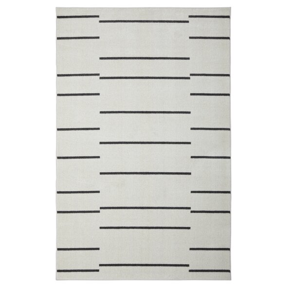 Mohawk Linen Gray Area Rug by Under the Canopy