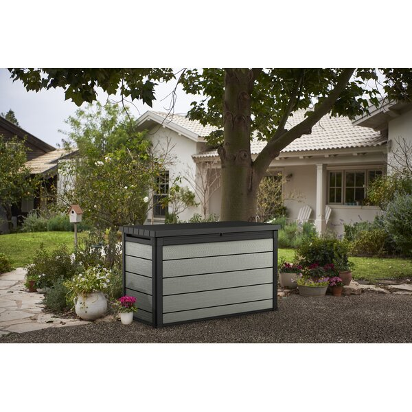 Gefjun 200 Gallon Resin Deck Box by Latitude Run Latitude Run