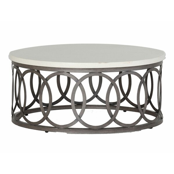 Ella Wrought Aluminum Coffee Table by Summer Classics