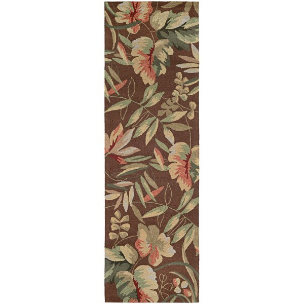 Wallingford Hand-Woven Light Cocoa Indoor/Outdoor Area Rug by Bay Isle Home